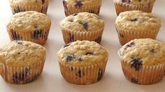 BLUEBERRY OATMEAL MUFFINS *********************A cup of quick-cooking oats makes these moist muffins even more substantial. Martha Stewart Blueberry Muffins, Blueberry Oat Muffins, Blueberry Recipes, Blue Berry Muffins, Healthy Muffins, Quick Bread, Recipe Roost, Muffin Recipes, Quick Recipes