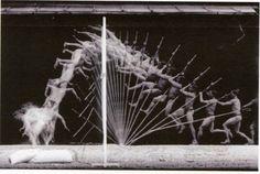 Chronophotographie de Georges Demenÿ, 1906, saut à la perche