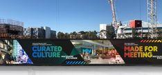 Edm Template, Hoarding Design, Sydney Metro, The Precinct, Master Plan, Visual Communication, Gradient Color, Brochure Design, Marketing