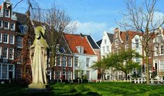 Travel & Adventures: Amsterdam. A voyage to Amsterdam, The Netherlands, Europe. Het Begijnhof