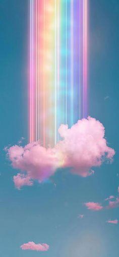 Wallpaper Pastel, Cloud Wallpaper, Rainbow Wallpaper, Wallpaper Keren, Cute Patterns Wallpaper, Iphone Background Wallpaper, Butterfly Wallpaper, Wallpaper Art, Cute Ipad Wallpaper