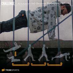 Al Kavadlo Beginner Calesthenics workout 5 x 5