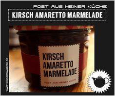 Kirsch Amaretto Marmelade