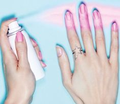 WITH SPRAY-ON NAIL POLISH. | Spray Paint Nail Polish Exists And Your Life Will Never Be The Same Again