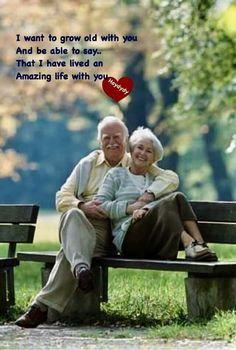 Older Couples, Couples In Love, Older Couple Photography, Couple Quotes, Couple Memes, About Me Blog, The Best Is Yet To Come, Old Love, Couple Relationship