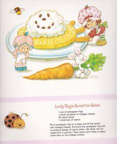 Vintage Strawberry Shortcake 1983 Sweet Treats Calendar - June