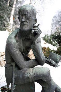 Grave Marker- James Joyce Grave, Fluntern Cemetery, Zurich, Switzerland
