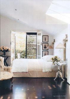 Calm bedroom!
