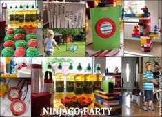 Geburtstagsparty für Ninjas, Ninjago-Party, Lego