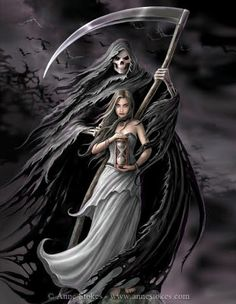 Summon the Reaper by Anne Stokes
