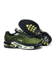 sale retailer 4d6ad 33a45 Black Friday Nike Air Max TN Mens Black Green Sale