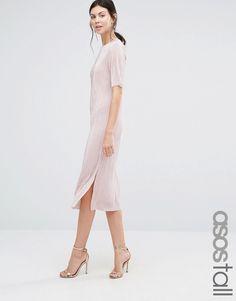 ASOS TALL Plisse T-shirt Dress £28.00