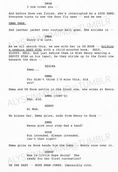 Final Once Upon A Time Script Season 7 Finale