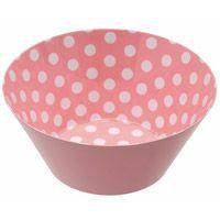 Pink Multi Dots Bowl