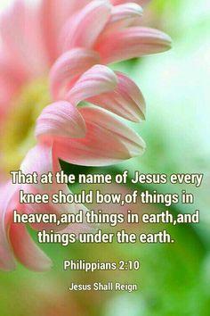 Philippians 2:10 KJV