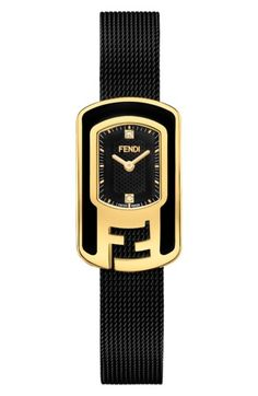 c727d4b82f1c Fendi Momento Flowerland Stainless Steel Bracelet Watch | Women's Watches  in 2018 | Pinterest | Watches, Fendi and Bracelet watch