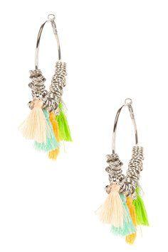 Meghan Fabulous Labyrinth Earrings