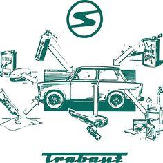 Vintage Trabant