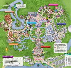 Great printable maps of Disney World
