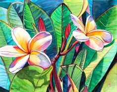 hawaiian art - Google Search