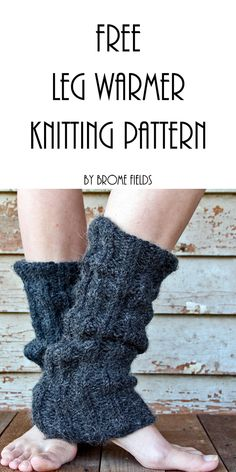 {FREE} DISCERNMENT : Women's Leg Warmer Knitting Pattern - Brome Fields : Grab this FREE Discernment Women's Leg Warmer Knitting Pattern. This is a simple rib pattern that's easy to adjust to fit you and this yarn is so cozy! Crochet Leg Warmers, Arm Warmers, Knit Crochet, Easy Knitting Patterns, Scarf Patterns, Leg Warmer Knitting Pattern, Crochet Patterns, Knitting Projects, Women Legs