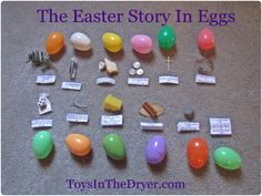 """Since Nutty was old enough to walk my family has had an egg hunt every Easter. My mom hides over 200 eggs and my girls, along with my nephew, hunt for them. It is a tradition we look forward to every year. Last Easter was a bit different. Hidden among the normal eggs were """"special"""" eggs w"""