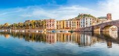 Bosa, in West Coast of Sardinia Island Sardinia Island, Sardinia Italy, Sardinia Holidays, Holiday Boutique, Excursion, Southern Europe, Camping Car, Luxury Holidays, 5 Star Hotels