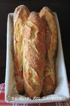 pain baguette sans petrissage magique4