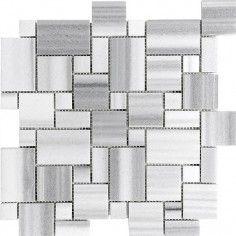 "Ceramic & Stone Tiles - 12""x12"" Mosaic (Polished) (CASNS252) by Casa Roma ® - Casa Roma Tile"