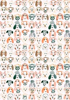 22 ideas dogs wallpaper pattern art prints for 2019 Dog Pattern, Pattern Art, Print Patterns, Surface Pattern Design, Free Pattern, Pattern Ideas, Art Et Illustration, Pattern Illustration, Arte Sketchbook