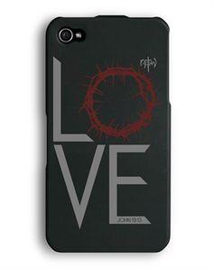 NOTW Love Thorn iPhone 4/4s Full Case - Christian Phone Cases for $19.99 | C28.com