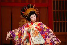 Japanese dance art  Expression, Wonderful Costuming.