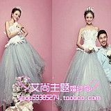 The new exhibition theme studio theme clothing wedding dress location photography Couple theme photo A151 taobao agent ,china online shop :www.agreetao.com