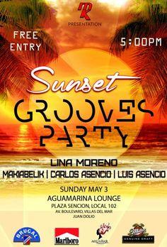 SunSet Grooves Party #GroovesParty #SunSetGrooves #ILoveHouseMusic (I❤) #AguaBarJD #InstaSize #SunSetGroovesParty #JuanDolio Ready 3/5/15 Beats by #MakiabelikMusic #LinaMorenoDj #DjCarlosAsencio #DjLuisAsencio #AguamarinaLoung #BrugalIsHappening #ItsMillerTime #RonBrugalRD #CervezaMillerRD