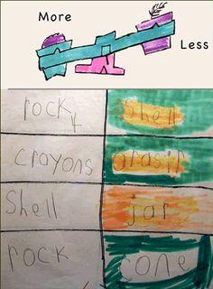 Teach measurement to kindergarten