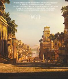 the beautiful city of Qarth of Game of Thrones