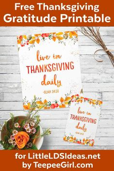 Free Thanksgiving Gratitude Printable Poster - LDS Church-y Things - - Mary Haircuts Relief Society Gifts, Relief Society Lessons, Free Thanksgiving Printables, Thanksgiving Quotes, Thanksgiving Table, Thanksgiving Treats, Thank You Poster, Visiting Teaching, Teaching Kids