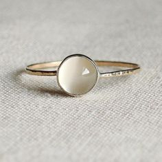 Moon on a Golden Thread Sweet and Simple Hammered von MARYJOHN, $35.00