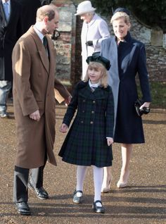 Lady Louise Windsor appeared publicly in her first hat last on Christmas Day 2011 when she was eight years old at Sandringham with her parents. she has not made a full transition to hat wearing as we have not seen her in a hat since then (she attended most of the Diamond Jubilee festivities last year as well as Trooping the Colour the past two years and the 60th anniversary of the Queen's Coronation last month)
