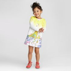 Toddler Girls' Dr.Seuss Shift Dress Outfit - Genuine Kids™ : Target