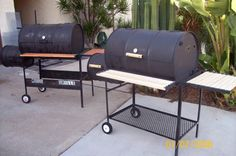 Custom BBQ Cookers | ... Grills, Vertical Smokers, Custom Grills, St. Louis Style BBQ Catering
