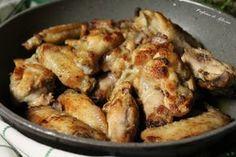 Ali di pollo saporite in padella - Ricetta veloce