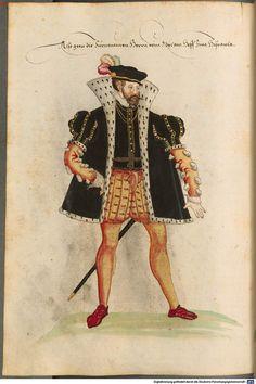 Costumi di uomini e donne di Spagna Renaissance Costume, Renaissance Men, Elizabethan Era, Man Illustration, Religion, Modern Warfare, 16th Century, Traditional Outfits, Fantasy Art