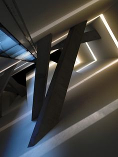 Luz de la esperanza/Interior del Museo Judío en Berlín. 1992-1999