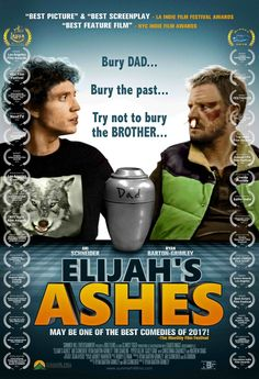 """TODAY'S GUEST: Ryan Barton-Grimley, independent filmmaker, actor, """"Elijah's Ashes""""  If you only see one madcap road comedy about step-brothers this year – and you've already seen the one Will Farrell made a decade ago with John C. Reilly – check out """"Elijah's Ashes,"""" starring Ari Schneider and my guest today, Ryan Barton-Grimley.  """"Elijah's Ashes"""" has everything you could ask for in an indie comedy, including:  • A possible suicidal dad  • A straight brother and a gay brother who hate…"""