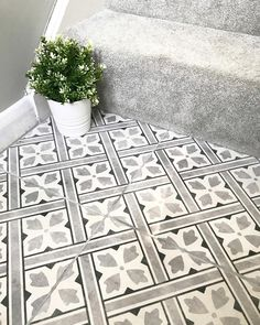hallway flooring Flooring idea for downstairs toilet Hall Tiles, Tiled Hallway, Modern Hallway, Hall Flooring, Kitchen Flooring, Ceramic Flooring, Bedroom Flooring, Flooring Ideas, Entryway Flooring