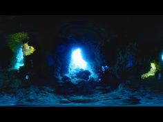 360° video Scuba Diving at Blue Cave, Orchid Island, Taiwan (蘭嶼,藍洞) 4K resolution - YouTube