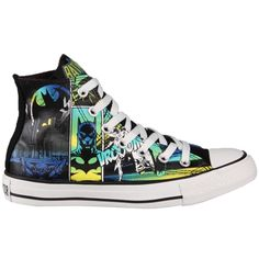 Converse Chuck Taylor 120821 DC Comics Canvas Print Batman Hi Top