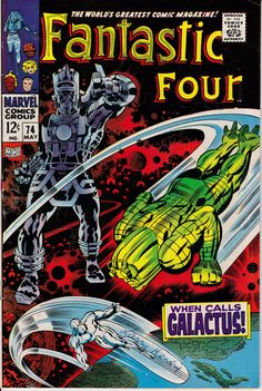Fantastic Four 74 May 1968 Issue  Marvel Comics  by ViewObscura
