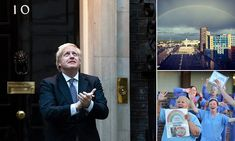 Coronavirus UK: Boris Johnson joins clap for carers after illness Tom Moore, Manchester Airport, Local Hero, Boris Johnson, Love Island, Milestone Birthdays, East London, Britain